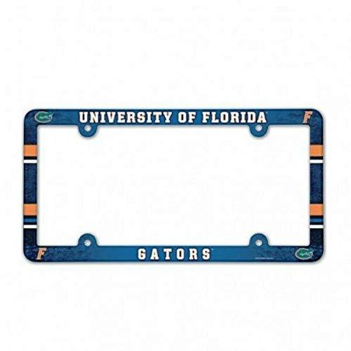 Florida Gators Full Color Plastic License Plate Frame