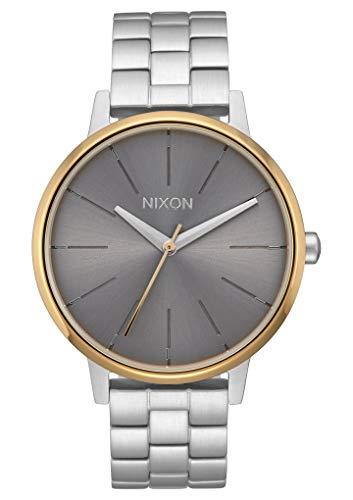 Nixon Reloj Analógico para Mujer de Cuarzo con Correa en Acero Inoxidable A099-2477-00