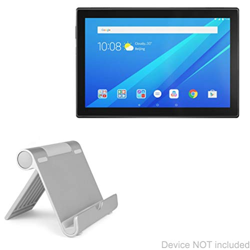 Lenovo Tab 4 (10 in) Stand and Mount, BoxWave [VersaView Aluminum Stand] Portable, Multi Angle Viewing Stand for Lenovo Tab 4 (10 in)