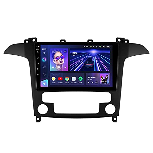 ADMLZQQ CC3 Android 10 Autoradio Touch Screen HD GPS Navigatore Stereo per Ford S-Max S Max 1 2006-2015 DSP 4G Controllo del Volante Vivavoce Bluetooth Telecamera Posteriore,8core WiFi+4g: 6+128g