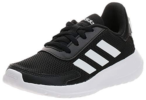 adidas Tensaur Run K, Zapatillas para Correr, Core Black/FTWR White/Core Black, 38 2/3 EU