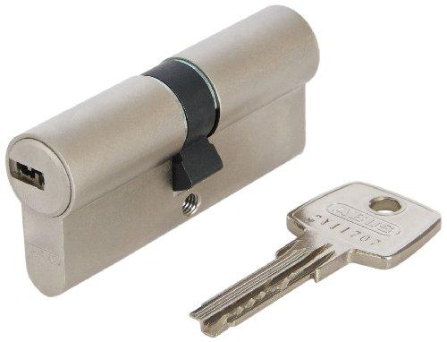 ABUS Profil-Zylinder D6XNP 40/40 mit Codekarte und 5 Schlüsseln, 48302
