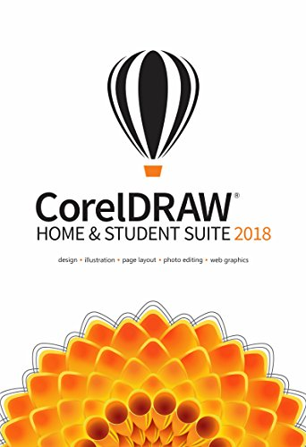 CorelDraw Home & Student Suite 2018 | Home and Student 2018 | PC | Code d'activation PC - envoi par email
