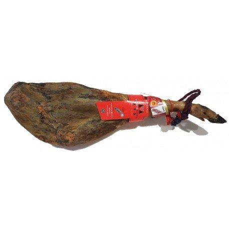 Prosciutto iberico ghianda, denominazione di origine, Monteparra su 9 kg.