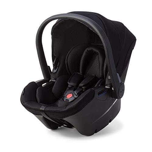 Silver Cross Simplicity Plus Baby Car Seat for Newborn to Toddler with Detachable Head Hugger