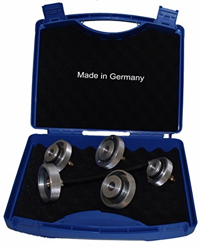 MANOTEC Adaptersatz ADK 2 Bremsenentlüftungsgerät Bremsenentlüftungsadapter Bremsenentlüfter Adapter Set Made in Germany