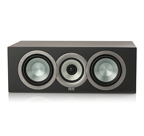 Lowest Price! ELAC Uni-fi CCU5 Center Speaker (Finished Satin Black Cabinet Single)