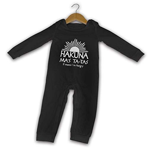 Yuanmeiju Hakuna Ma's TA-Tas Baby Strampler Long Sleeve Cozy Cute Onesie Newborn