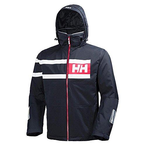 Helly Hansen Salt Power Jacket Veste Homme, Blanc, FR : M (Taille Fabricant : M)