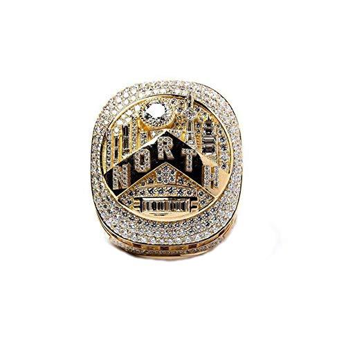 TYTY 2019 NBA Raptors Championship Ring Anillos de Campeonato, campeones Anillo de réplica para Aficionados Colección del Regalo del Recuerdo de los Hombres,with Box,11