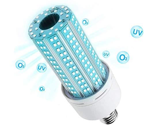 Lampe germicide UV 60 W E26 Ampoule LED UVC E27 pour maison,...