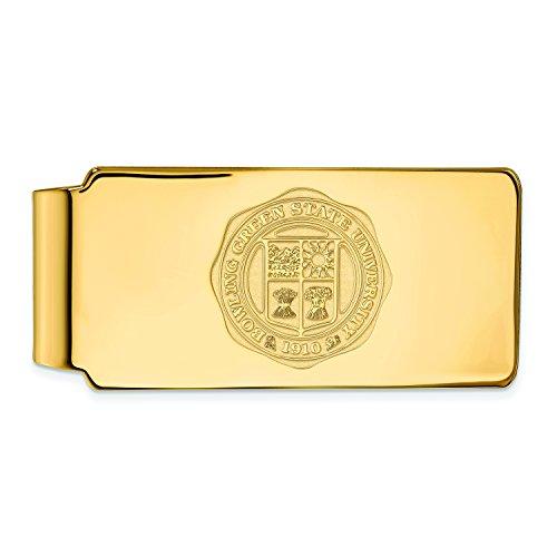 Bowling Green Geld Clip Wappen (14kt Gelbgold)