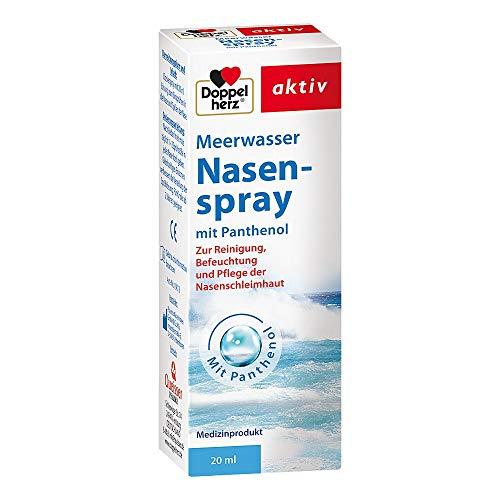 DOPPELHERZ Meerwasser Nasenspray mit Panthenol 20 ml