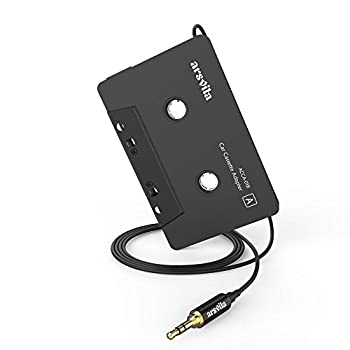 Arsvita Car Audio Cassette to Aux Adapter  3.5 MM Auxillary Cable Tape Adapter