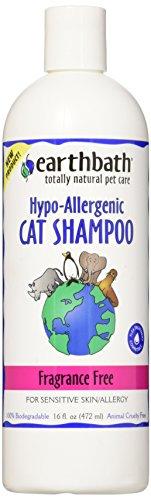 EARTHBATH Katzen-Shampoo, Hypoallergen, parfümfrei, 472ml