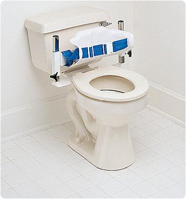 Lowest Prices! Low-BackToilet Support. Adult (14W, 10-17H) (36 x 16 x 43cm)