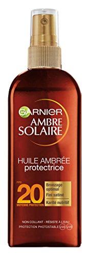 Garnier Ambre Solaire Huile Ambrée Protectrice FPS 20 150 ml