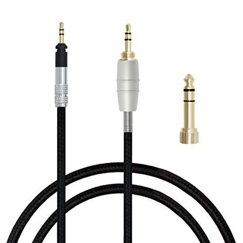 MiCity Cable de extensión de Audio de actualización para Shure SRH440 SRH940 SRH840 SRH750 SRH940 Auriculares 2m