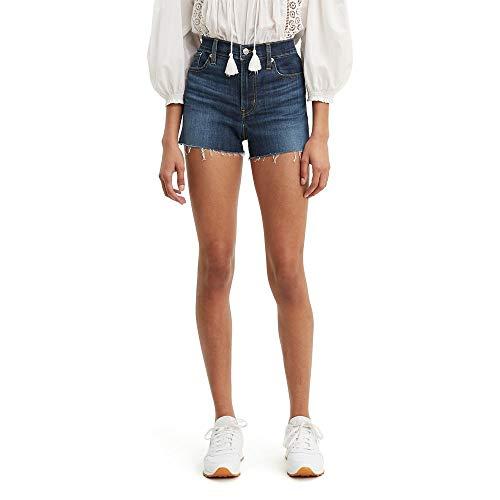 Levi's Women's High Rise Shorts, carbon canopy, 27 (US 4)