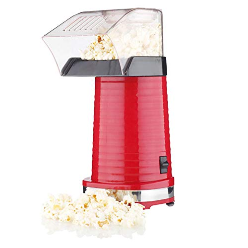 For Sale! Auto Hot Air Popcorn Maker, 220V 1200W Household Mini Popcorn Machine Automatic DIY Corn M...