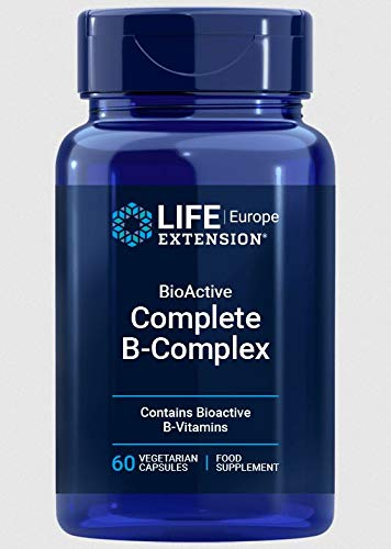 Life Extension, BioActive B-Complex, 60 vegane Kapseln