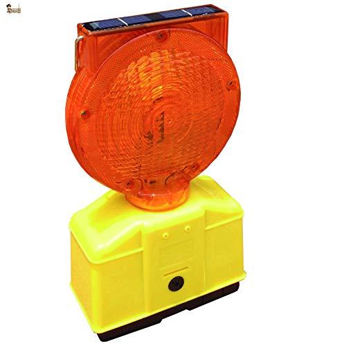 BricoLoco Lámpara señalización balizamiento. Luz baliza luminosa, señalizar, emergencia, obras. ¡¡¡ LED...