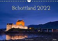 Schottland (Wandkalender 2022 DIN A4 quer): Natur, Architektur, Burgen und Orte aus Schottland im Norden des Vereinigten Koenigreiches (Monatskalender, 14 Seiten )