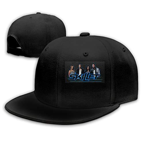 Nathan Here Skillet Merch Snapback Hat Mütze Baseball Kappe für Herren Damen Trucker Cap Baseball-Kappe