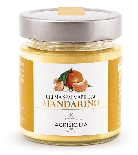 Agrisicilia Crema Spalmabile al Mandarino, 212 Millilitri