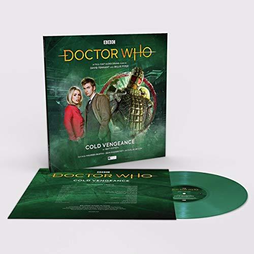 Doctor Who - Álbum de vinilo de 180 g, edición limitada, color verde
