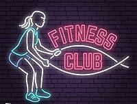 LED看板 ネオンサイン ネオン NEON SIGN ワークアウト キャンペーン Fitness Gym Sport (Fitness Club フィットネスクラブ)