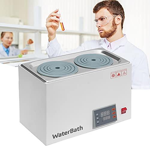 ZhiLianZhao Laboratorio Termostático Digital, Baño Agua con Pantalla Digital, con Laboratorio Pantalla Led, para Laboratorio Científico Digital Solo Recipiente