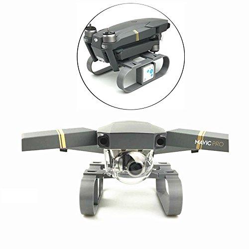 Drone Fans 3D Printed Mavic Pro Lengthened Height Extender Landing Gear Stabilizer with RF-V16 GPS Holder Bracket for DJI MAVIC PRO
