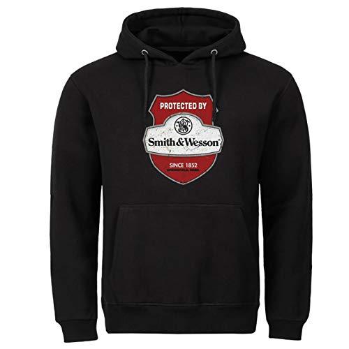 Tex-Ha Smith&Wesson Amerika schwarz Hoodie Kapuzenpullover (2XL)