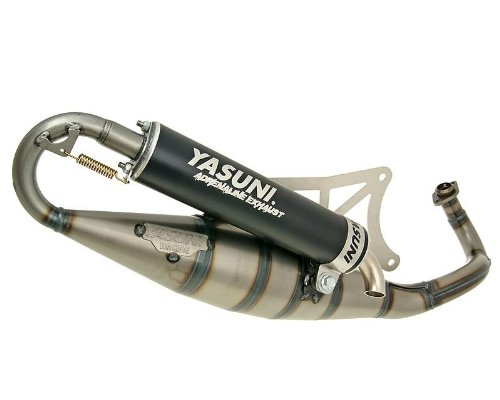 YASUNI SCOOTER R nero di scarico per Piaggio Liberty 502T, NRG 50, NRG 50DT LC