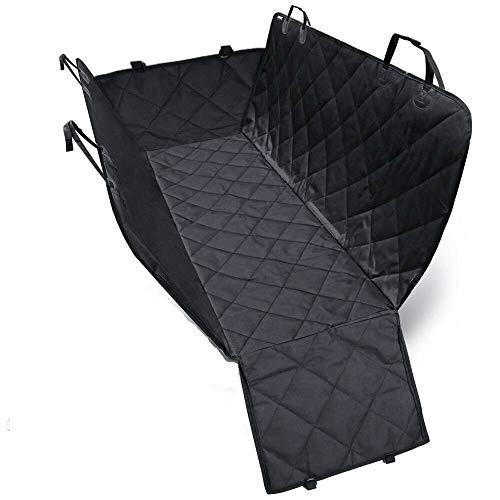 Autoschondecke Hund Rücksitz, Wasserdichte Hundedecke, Schutz Autodecke für Hunde mit Seitenschutz, Kofferraumdecke 137cm*148cm Zodae