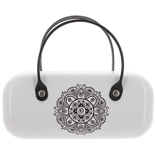 MIK Funshopping Brillenetui mit Henkeln (Mandala white)