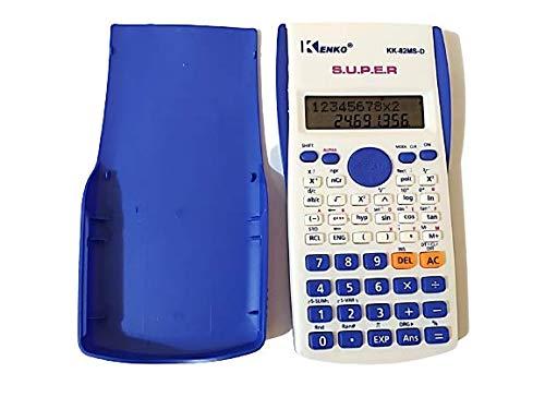 Wissenschaftlicher Taschenrechner, 2-zeiliges Display, Stat-Daten-Editor, Fraktionsberechnungen für Studenten, Profis