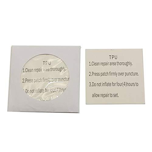 5 piezas autoadhesivas TPU pegatina impermeable transparente parches de tela al aire libre tienda chaqueta reparación cinta parche accesorios