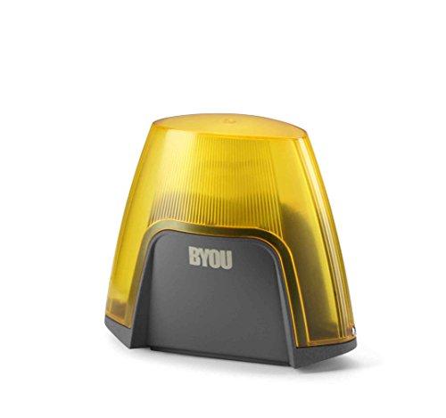 Byou 9534000 Lampeggiante, 24 Vdc, 24 V, Grigio/Giallo