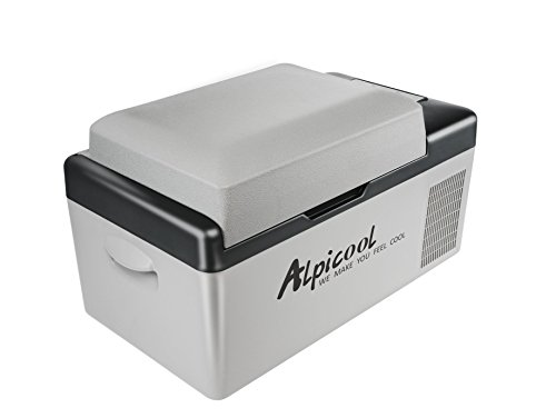 Alpicool C20 Portable Refrigerator 21 Quart(20 Liter) Vehicle, Car, Truck, RV, Boat, Mini Fridge Freezer for Driving, Travel, Fishing, Outdoor -12/24V DC