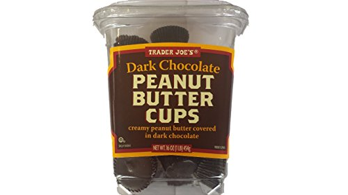 Trader Joe's Dark Chocolate Peanut Butter Cups 16 oz