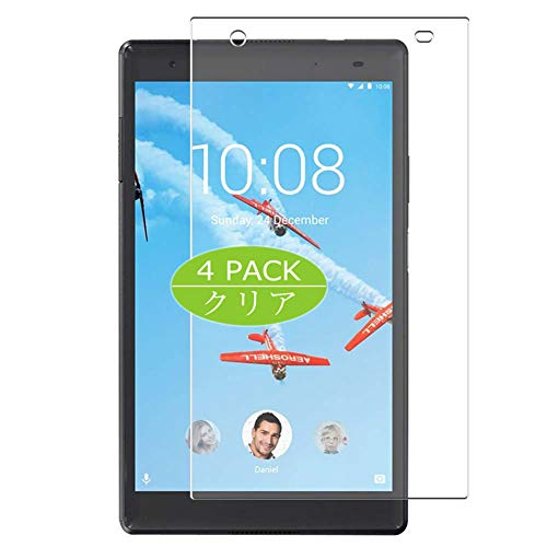 Vaxson Pack of 4 Screen Protectors for Lenovo TAB 4 8 Plus TB-8704N 8 Inch TAB4 Screen Protector Bubble-Free TPU Film [Not Tempered Glass]