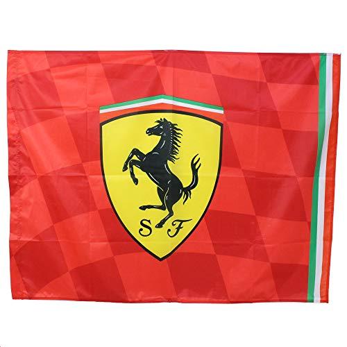Scuderia Ferrari Drapeau de 120 x 90 cm.