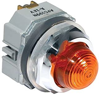 IDEC APD199DN-A-120V Pilot Light, 30MM, Amber, Oil-Tight
