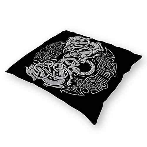 Throw Pillowcase Plush Pillowcase Super Soft Pillow Cover Case for Holding Pillow Amon Amarth Logo (18' x 18')