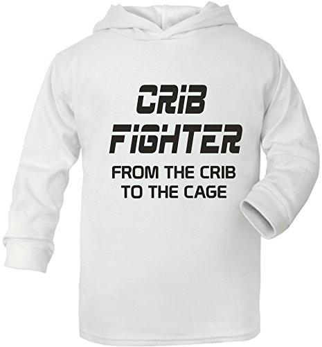 Berceau Fighter UFC/MMA Supersoft bébé Sweat à capuche - Blanc - 6-12 mois