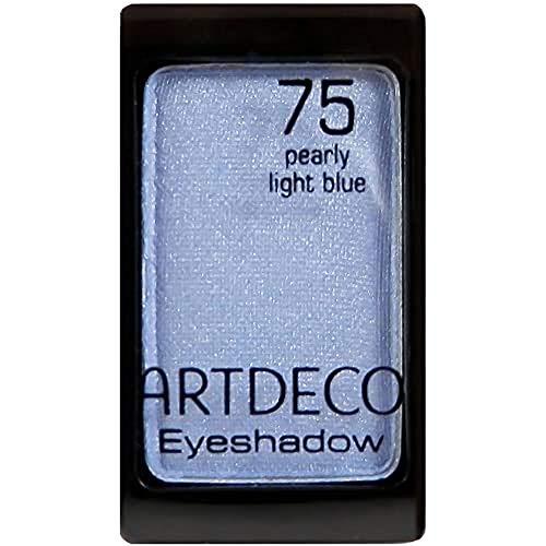 ARTDECO Eyeshadow - Farbintensiver langanhaltender Lidschatten blau, pearl - 1 x 1g