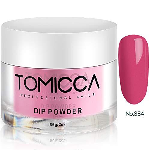 TOMICCA Nail Dip Powder Starter Kit rood roze 384