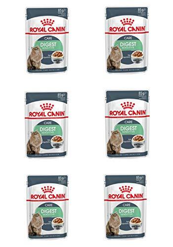 Royal Canin- 6X Digest Sensitive a 85g Katzenfutter mit sensibler Verdauung